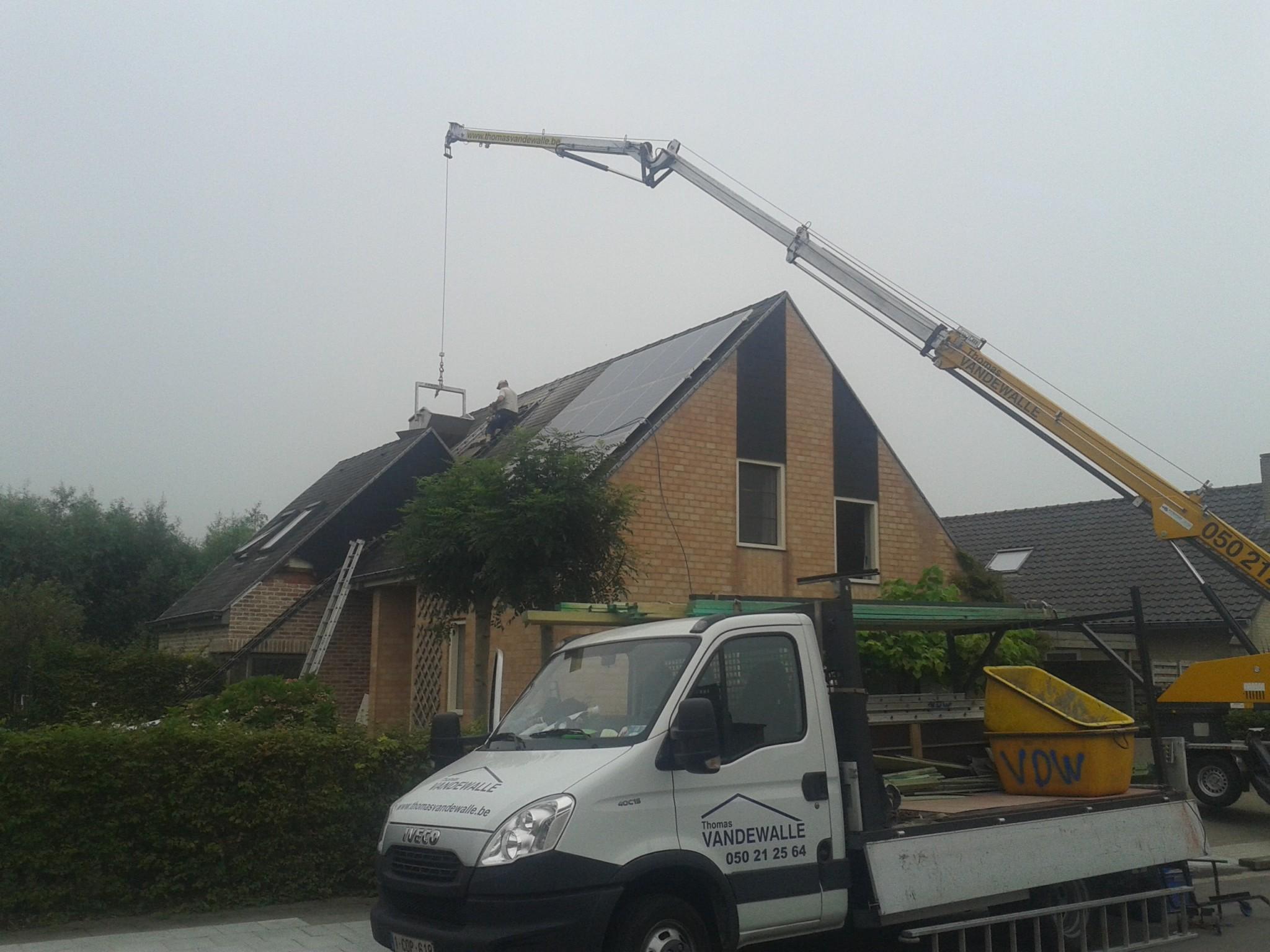 Kraan thomas vandewalle dakwerken torhout - Vormgeving van de badkamer kraan ...